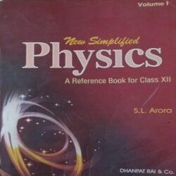 Physics Volume1 Class 12th Books
