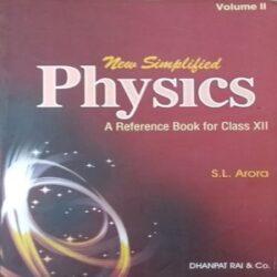 Physics Volume2 class 12th Books