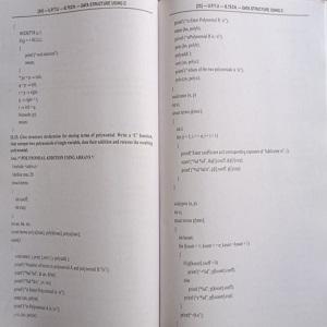 Data structure using 'c'