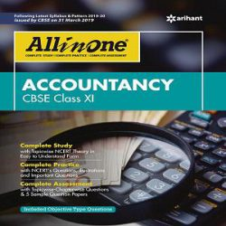 CBSE All In One ACCOUNTANCY Class 11 books