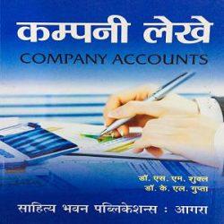Company Accounts Hindi books