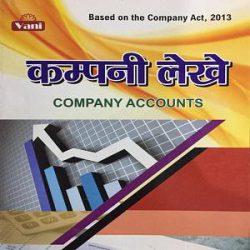 Company accounts hindi 2 book