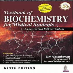 vasdevan-biochemistry books