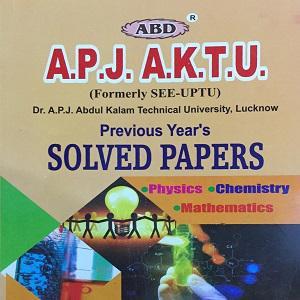 ABD A.P.J. A.K.T.U. Solved Paper