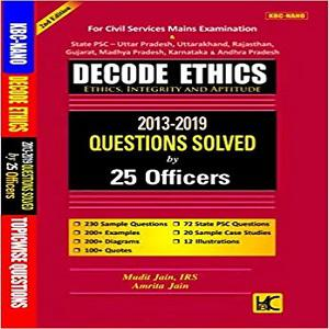 Decode Ethics Solved Papers UPSC