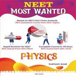 NEET MOST WANTED PHYSICS books