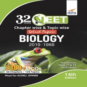 32 YEARS NEET Biology