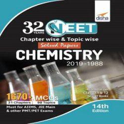 Neet CHEMISTRY 2019-1988 books
