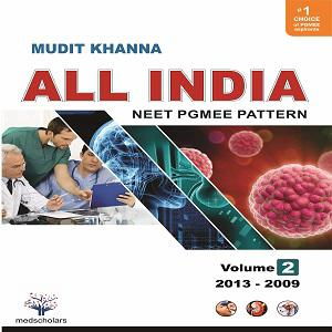 All India NEET Pgmee pattern Volume2