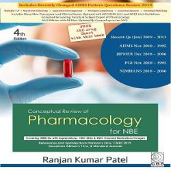 CONCEPTUAL REVIEW OF PHARMACOLOGY books