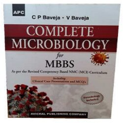 Complete Microbiology for MBBS By C P Baveja books