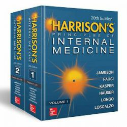 Harrison's Principles of Internal Medicine 2 Vol Set books