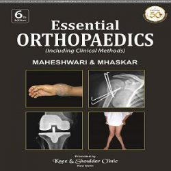 Orthopedics (Including Clinical Methods) Maheshwari books