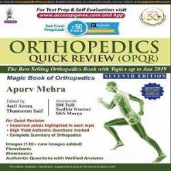 Orthopedics Quick Review (Opqr) Magic Book Of Orthopedics books
