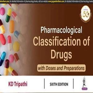 Pharmacological Classification Of Drugs