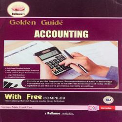 Reliance's Golden Guide Accounting books