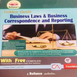 Reliance's Golden Guide Business Laws & Business Correspondence and Reporting books
