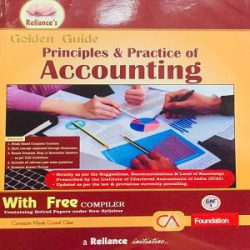 Reliance's Golden Guide Principles & Practice of Accounting books