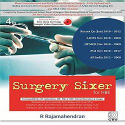 SURGERY SIXER FOR NBE 4ED (PB 2019)