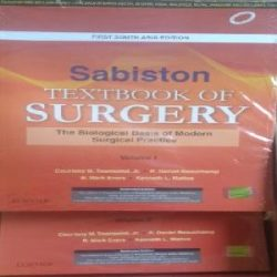 Sabiston textbooks of Surgery-2 Books