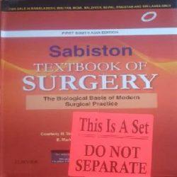 Sabiston textbooks of Surgery Books