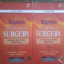 Sabiston textbooks of Surgery-3 Books