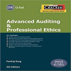 Taxmann's CRACKER-Advanced Auditing & Professional Ethics_2 books