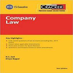 Taxmann's CRACKER-Company Law books