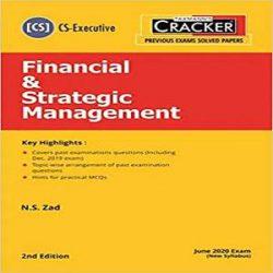 Taxmann's CRACKER-Financial & Strategic Management books