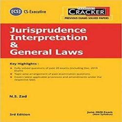 Taxmann's CRACKER-Jurisprudence Interpretation & General Laws books