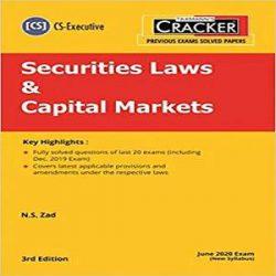 Taxmann's CRACKER-Securities Laws & Capital Markets books