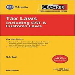 Taxmann's CRACKER-Tax Laws Including GST & Customs Laws books