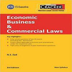 Taxmann's Cracker-Economic Business & Commercial Laws books