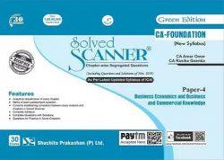 resized_Solved Scanner CA Foundation-Paper-4 books
