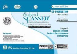 resized_Solved Scanner CA Foundation-paper-2 books