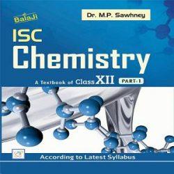 ISC CHEMISTRY 12 Books