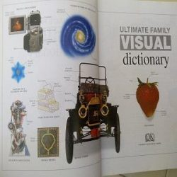 DK's Ultimate Family Visual Dictionary used books