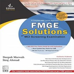 FMGE SOLUTIONS-used-books