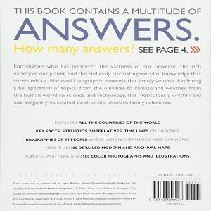 National Geographic Answer Book