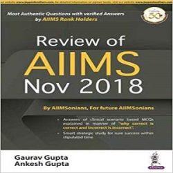 Review-Aiims-2018-Gaurav-Gupta books