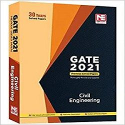 1-Made Easy GATE 2021 civil engineering previous 30 years solved papers Paperback – 1 January 2020 books