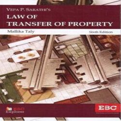 EBC's Law Of Transfer Of Property By Mallika Taly books