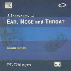 diseases of ear,nose and throat books