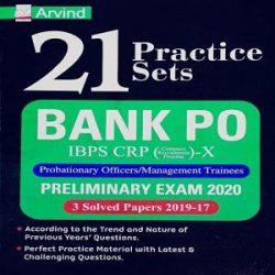 IBPS Bank PO IBPS CRP X 21 Practice Sets P O-M T books