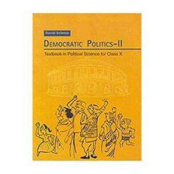 Democratic Politics 2 For Class 10 books