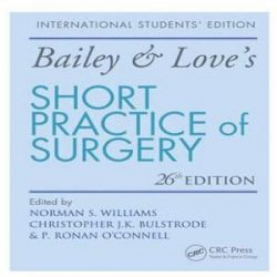 short practice of surgery books
