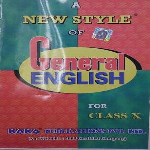 A New Style of General English,Class-X