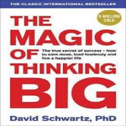 The Magic of Thinking Big Paperback books