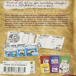 Diary of wimpy Kid Do-it Yourself books