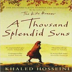 A Thousand Splendid Suns Paperback books